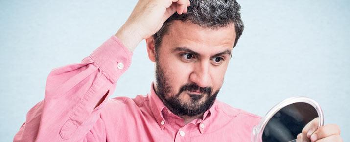 Trattamento per eliminare definitivamente i capelli grigi