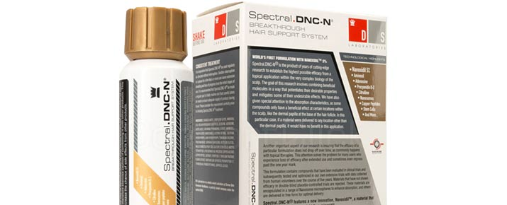 Opinione sulla lozione Spectral DNC contro la caduta dei capelli